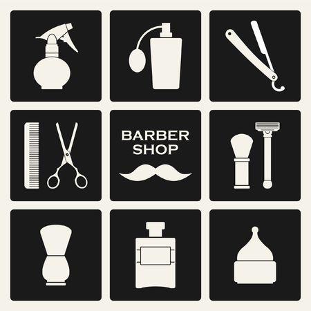 gent's: Barber shop tools set