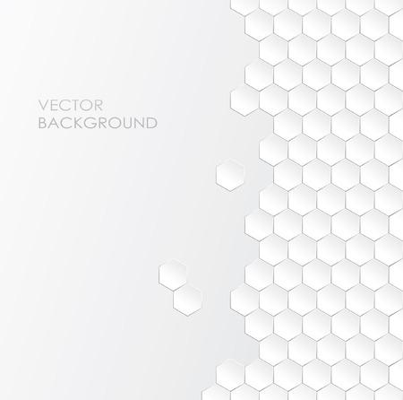 effect: 3d effect white background Illustration