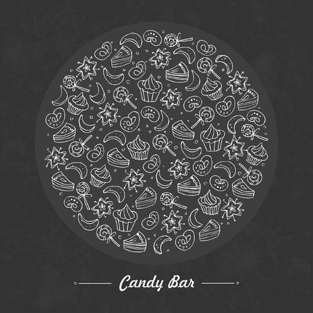 candy bar: Candy bar and baking set