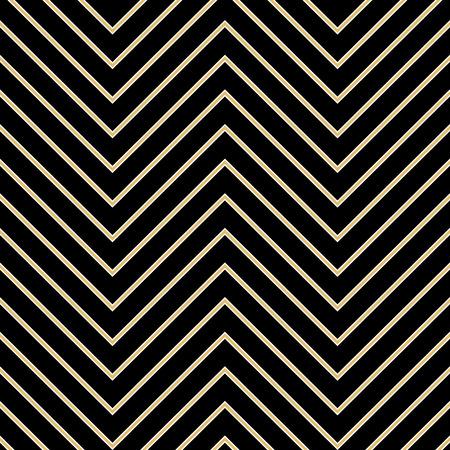 twenties: Art Deco seamless vintage wallpaper patterns vector.
