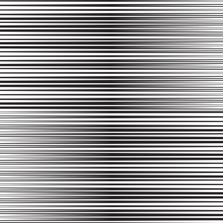 geometrical: Abstract white and black striped background, vector illustration. Illustration
