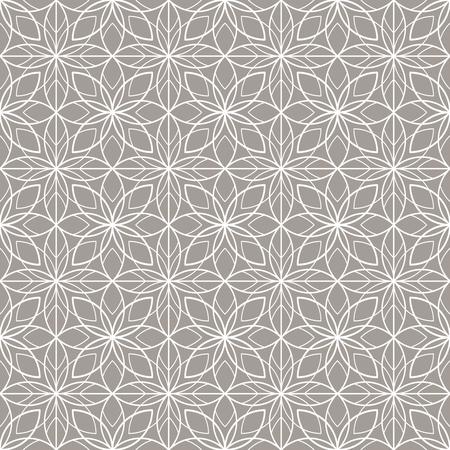 Art Deco naadloze vintage behang patroon. Geometrisch kant decoratief patroon