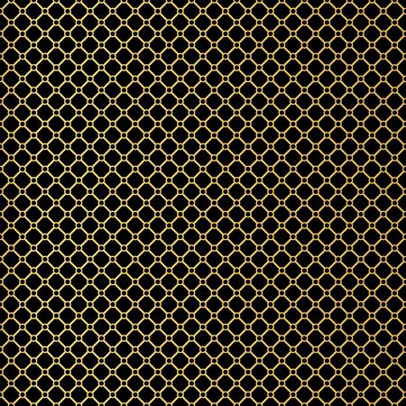 thirties: Art Deco seamless vintage wallpaper pattern. Geometric lace decorative pattern. Illustration
