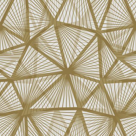 Seamless vintage wallpaper pattern. Geometric decorative background.