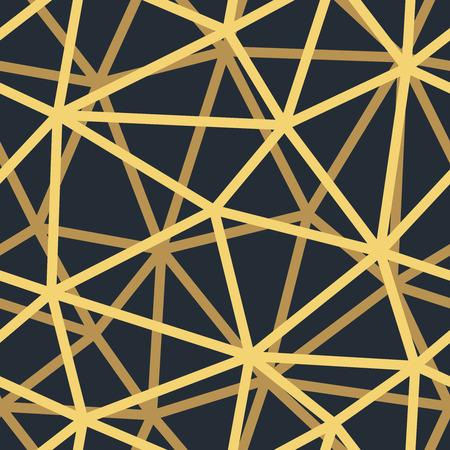 シームレスなビンテージ壁紙パターン。幾何学的な装飾用の背景。  イラスト・ベクター素材