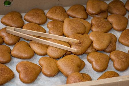 gingerbread man: Homemade honey cake (Medovnik) - Folk art