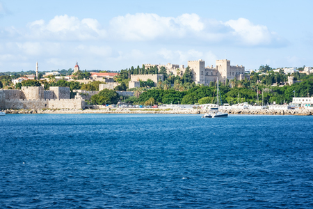 View of Grand Master in City of Rhodes (Rhodes, Greece)