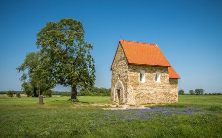 Church of St. Margaret of Antioch from the 9th century, Kopcany, Slovakia