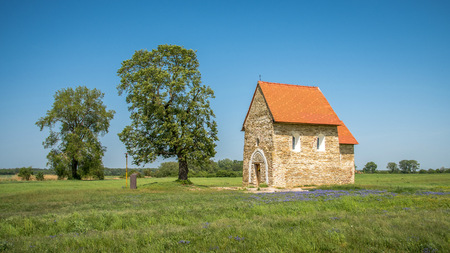 Church of St. Margaret of Antioch from the 9th century, Kopcany, Slovakia
