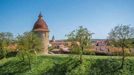 St. George`s Rotunda, Skalica, Slovakia 写真素材