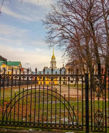 Savior Transfiguration Cathedral and Belltower, Rybinsk, Russia