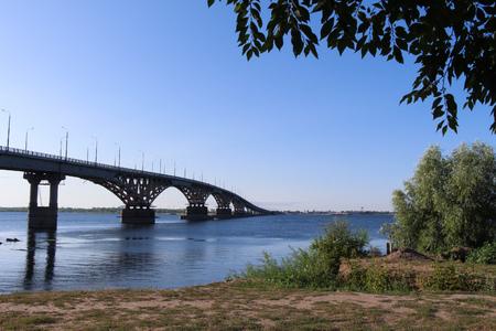 volga: The bridge on the Volga
