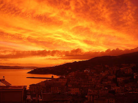 sensations: Fire in The Sky in Monte Argentario