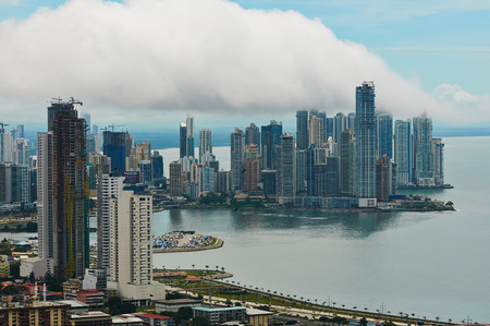 panama city: Panama city landscape Editorial