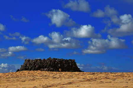 Spain dunes on the beach