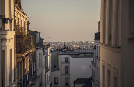 singular: A singular view of Paris at sunset