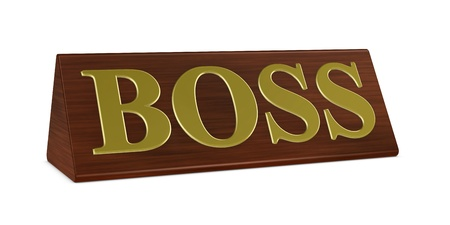 one 3d render of a nameplate with the word