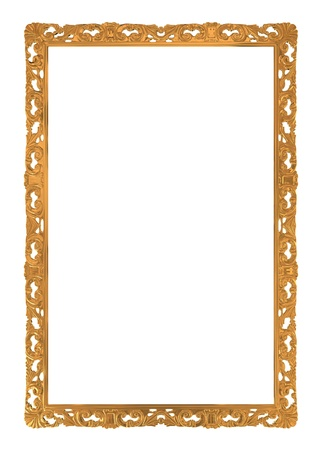 ornamental frames: classic picture frame with white space for your text or image