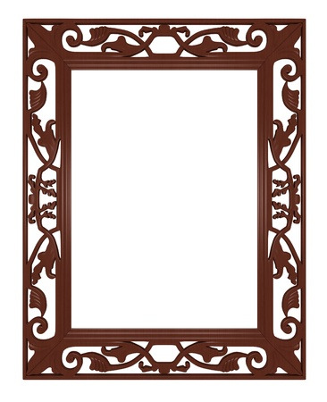 classic picture frame with white space for your text or image photo