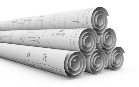 dibujo tecnico: algunos de los proyectos del plan de laminados, se trata de un proyecto de la casa (3d)