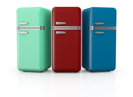 Retro Kühlschrank Blau : Blaue retro kühlschrank lizenzfreie fotos bilder und stock