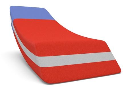 close up view of an eraser (3d render) Stock Photo - 20006801