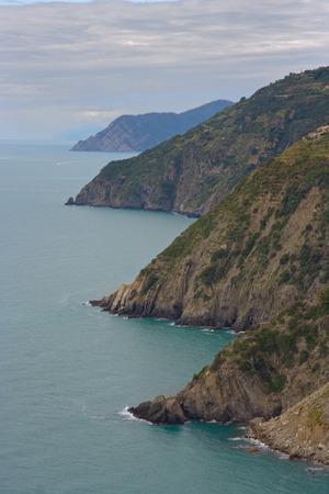 ''cinque terre'': cinque terre coastline Liguria Italy Stock Photo