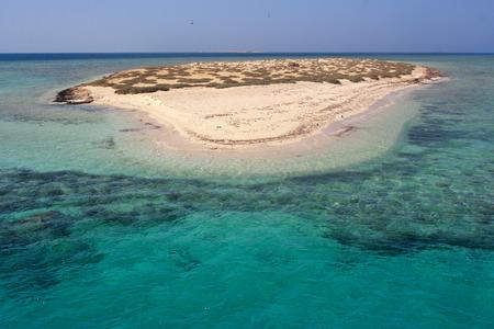 marsa: Paradise Atoll of Qulaan islands in Red sea Hamada egypt