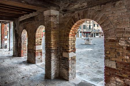 atmosphere construction: Venice, Italy - Jewish ghetto