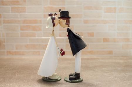 spouses: Spouses kisses wedding favor