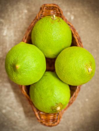unripe: unripe lemons Stock Photo