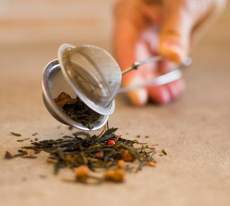 opens: tea strainer opens