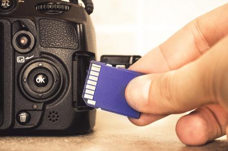 sd card camera insert