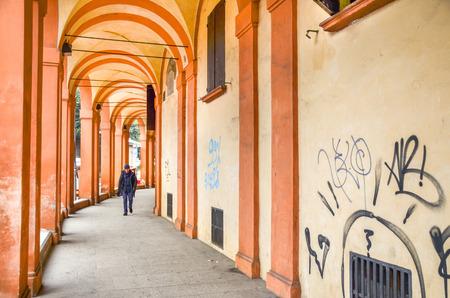 bologna: Bologna portico - Emilia Romagna region
