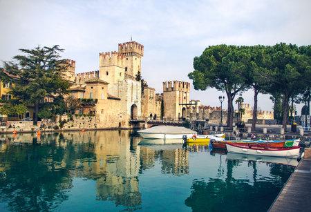 sirmione: Sirmione, Scalinger Castle, Lombardy