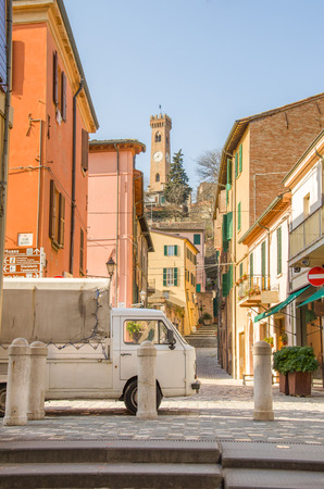 rimini: village Santarcangelo di Romagna italy - Rimini