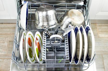 dishwasher: open dishwasher