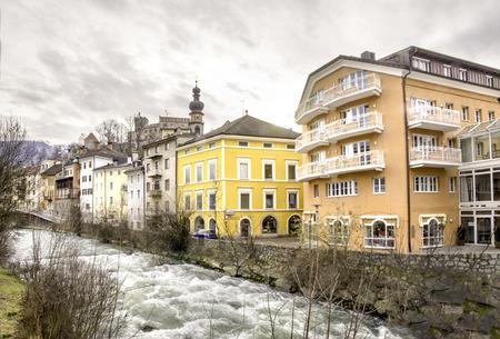 alto adige: Brunico  - Trentino Alto Adige - Italy - Rienza river