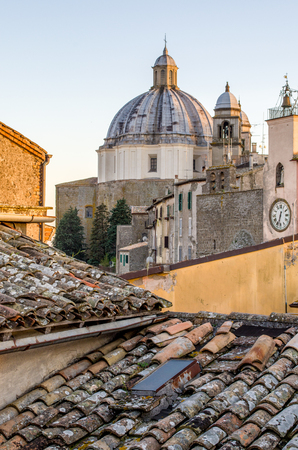 lazio: Montefiascone - Lazio - Viterbo - Italy - roof