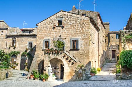 lazio: Bagnoregio - Lazio - Italy Stock Photo