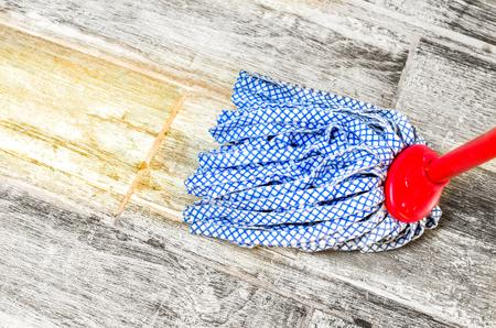 domesticity: wipe floor mop -  chores housekeeping