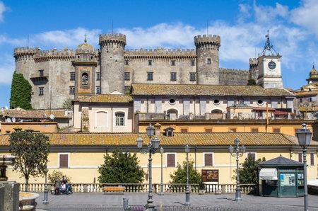 lazio: Bracciano castle in  Lazio - Rome, Italy