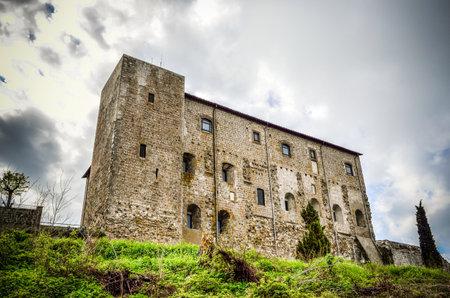 lazio:  Castello dei Papi Castle i n Montefiascone - Viterbo, Lazio Italy
