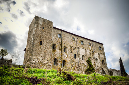 unearthly:  Castello dei Papi Castle i n Montefiascone - Viterbo, Lazio Italy