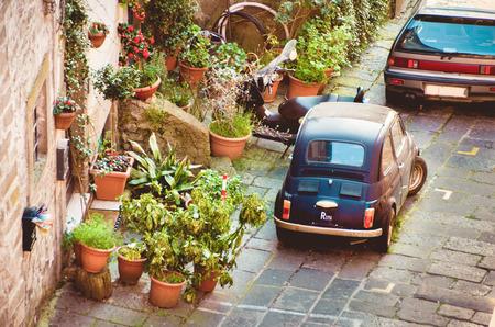 italian car: Vintage italian car Stock Photo