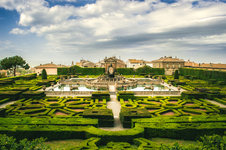 lazio: Villa Lante - Bagnaia -  Viterbo - Lazio