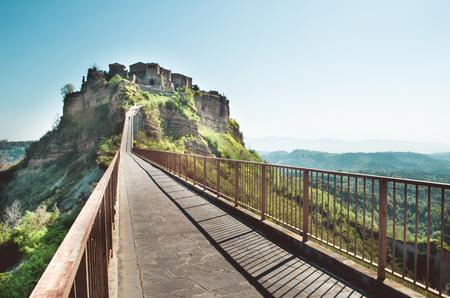lazio: Civita di Bagnoregio - Lazio landscape - Viterbo provinces italy Stock Photo