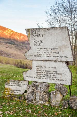 sole: Parco storico Monte Sole - Bologna