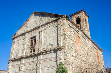 desecrated: abandoned monastery in Bobbio - Piacenza - Italy