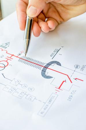 electrical scheme drawing - facbooik, Wiring electric